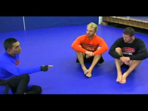 Team Alpha Male Triangle Choke Warm Up