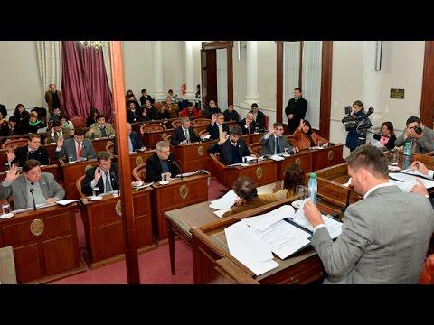 <b>Senado.</b> Es ley acuerdo con Naci�n por coparticipaci�n y endeudamiento