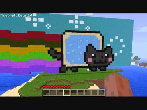 Nyan Cat In Minecraft!