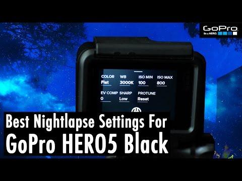 The Absolute BEST GoPro HERO5 Night Lapse Settings (w/ Adobe Lightroom Tutorial) | RehaAlev