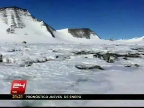 Descubren inusual deshielo en el Polo Sur - 24 HORAS TVN 2012