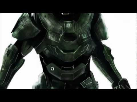 HALO 4 - Master Chief - Speed Paint in Photoshop [HD]