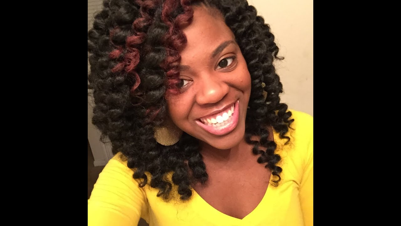 Jamaican Twist Braids Crochet Hair Styles