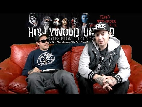 Hollywood Undead #DAYOFTHEUNDEAD Stickam Chat [December 10, 2012]