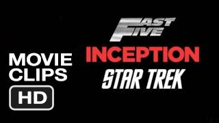 Now Playing in IMAX at the AMC Theaters - Inception Star Trek Fast Five