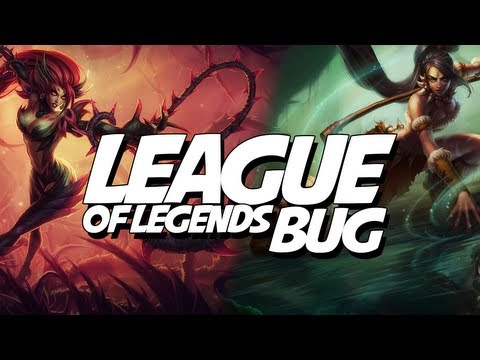 League of Legends BUG - 5 Nidale`s and 5 Zyra`s