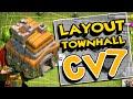 CLASH OF CLANS | Centro da Vila Level 7 | Town Hall 7 | Defesa / Defense - #3