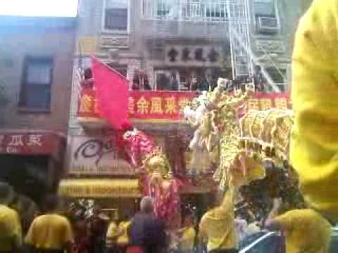 Yee's Hung Ga Dragon & Lion Dance - Yee Fung Toy 08-09-09