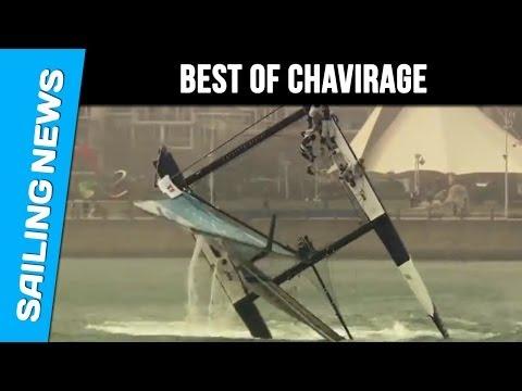 BEST OF CRASH : les plus gros chavirages et collision en voile et en bateau!