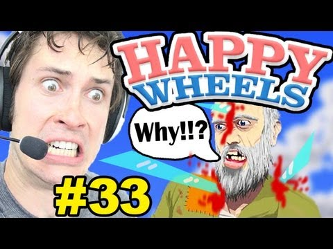 Happy Wheels - OLD MAN TORTURE - Part 33