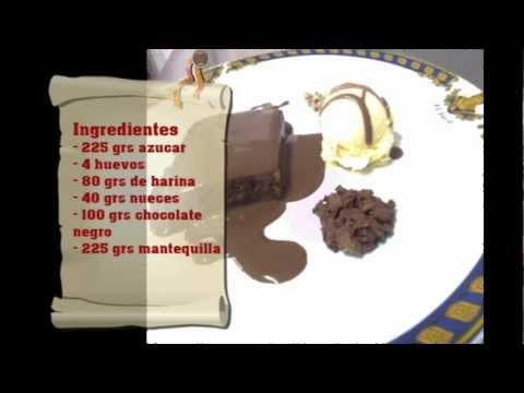 Como Decorar postres 4 (brownie)