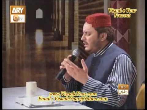 URDU NAAT(Ankhoon Ko Wo)SHAHBAZ QAMAR FAREEDI.BY   Naat E Habib