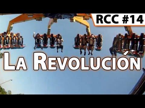 La Revolución Pendulum Ride POV @ Knott-s Berry Farm