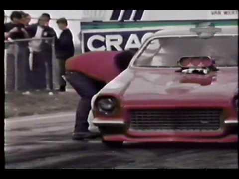 Vintage 1970-s Drag Racing - rare footage