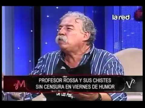"""Profesor Rossa y su chiste del """"Repartidor de leche"""""""