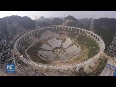 Хятад дэлхийн хамгийн том телескопыг суурилуулав