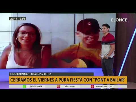 Pont a Bailar, la banda de cumbia pop paranaense tocó en vivo en Elonce TV