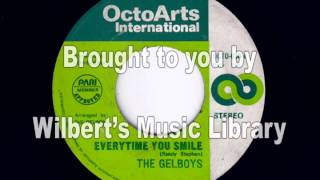EVERYTIME YOU SMILE - The Gelboys