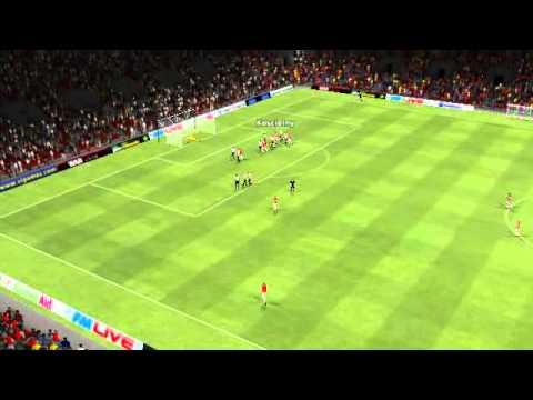 Arsenal vs Fulham - Pelin Batu frikik 55th minute by ginobili