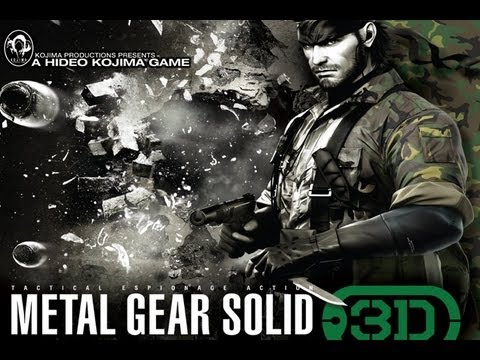 CGRundertow METAL GEAR SOLID: SNAKE EATER 3D for Nintendo 3DS Video Game Review