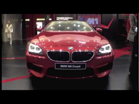 2013 BMW M6 Coupe @ 2012 Geneva Motor Show