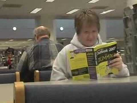 Fart Prank in Library (Farting in Public) by Nalts