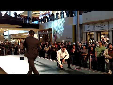 Microsoft Surface Pro Dancers At Fashion Show Mall Las Vegas Event 2-9-13