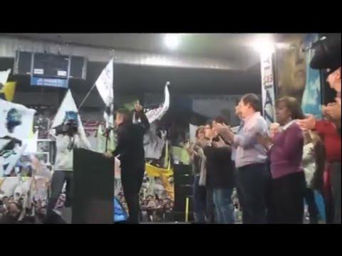 <b>Acto en Echague.</b> Urribarri present� sus candidatos para la provincia y Paran�