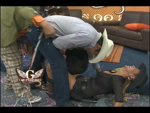 Margarito se cae, y realmente se enoja!! ALTA DEFINICION