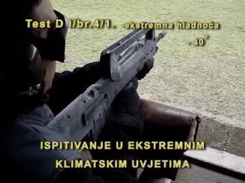 HS produkt-Croatian assault  rifles VHS-K and VHS-D- Testing (English subs)