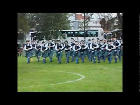 Stamperland Pipe Band worlds 2011