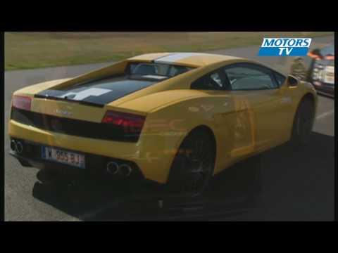 Car test LAMBORGHINI GALLARDO GT3 ET BALBONI