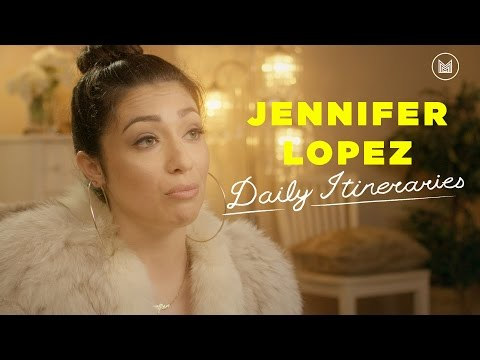 Jennifer Lopez - Daily Itineraries ft. Melissa Villaseñor