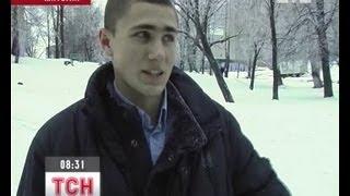 В Бердичеве студенты лицея задержали грабителя