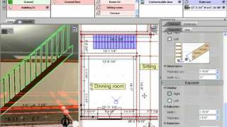 3D Home Design By Livecad Tutorials 07 Staircase   YouTube Part 46