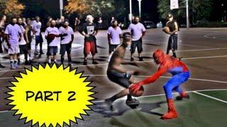 蜘蛛俠強項原來不是吐絲爬牆,街頭籃球才是他的最愛!