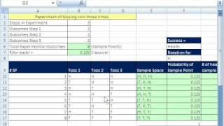 how to create a probability distribution in excel