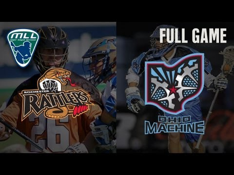 MLL's Youtube Game of the week: Rochester Rattlers at Ohio Machines