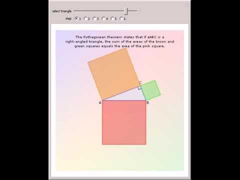 Da Vinci's Proof of the Pythagorean Theorem