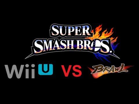 Super Smash Bros Wii U Vs Super Smash Bros Brawl Character Comparison