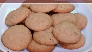 Wheat Almond Eggless Cookies..