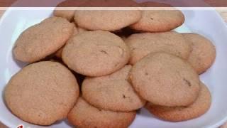 Wheat Almond Eggless Cookies..