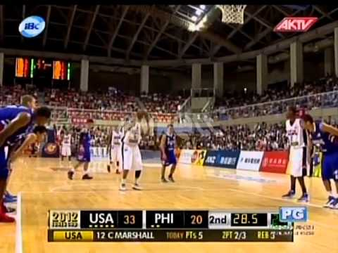 2012 JONES CUP Gold Medal Match | Pilipinas Vs USA part 4