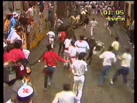 Encierro de San Fermín   8 de julio de 1984 480p