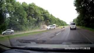 Последствия аварии на трассе Житомир-Бердичев