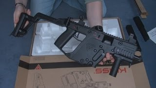 Airsoft) Unboxing the KRISS Vector KWA - KhanSeb