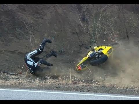 GSXR 600 Crash