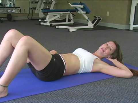 5 Min Tone Abs Workout 2, Fitness Training w/ Tammy