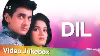 Dil (1990) Songs  Aamir Khan, Madhuri Dixit  Popular 90\'s Songs  Anand Milind Hits HD]