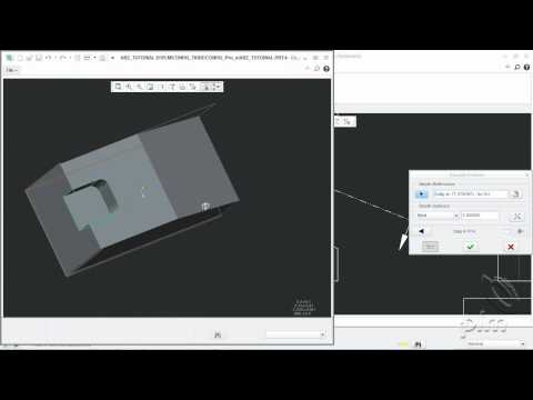 2D para 3D Creo/Parametric 1.0 - AutobuildZ